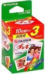 FUJIFILM インスタントカラーフィルム instax mini (10枚入×3パック) INS C3