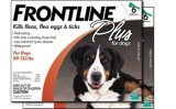 Frontline PLUS for dogs 89-132 lbs 12 month supply