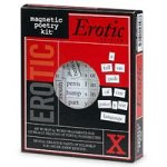 Magnetic Poetry Kit, Erotic Edition - 1 ea