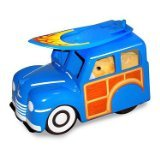 Zhu Zhu Pet Hamster Deluxe Accessories:  Woody Wagon & Surfboard