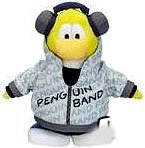Buy Low Price Jakks Pacific Disney Club Penguin 6.5 Inch Series 7 Plush Figure Band Member Version 2 Includes Coin with Code! (B003AT84EW)