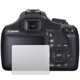 6 x Clear LCD Screen Protectors for Canon EOS 1100D (Digital SLR) - Anti-Scratch Guard / Display Savers