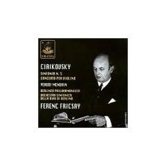 Ciaikovsky, sinfonia N.5 Concerto per violino (Tchaikovsky: Symphony 5 / Violin Concerto)