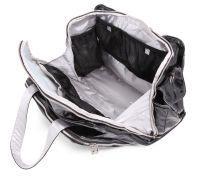 Ju-Ju-Be Be Prepared Diaper Bag, Black/Silver
