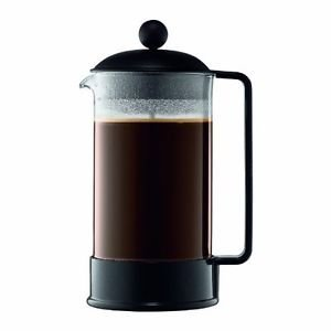 Bodum Brazil 8-Cup French Press Coffee Maker, 34-Ounce, Black (34 Oz French Press compare prices)