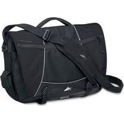 High Sierra Tank Messenger Bag Black by High Sierra