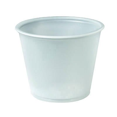 SOLO CUPS Plastic portion cups. Includes 10 sleeves of 250 cups. 2500 per case. Manufacturer Part Number: SCC UR55