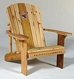 University of Houston Logo Adirondack Chair with 23 inch Seat Width