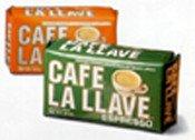 Cafe La Llave Decaf Espresso Coffee 8.8 Oz. Brick Pack