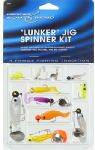 Maurice Sporting Goods KIT-1 Spinner Kit, Lunker Jig, 10-Pk. - Quantity 12