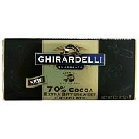 Ghirardelli Chocolate Baking Bar, 60% Cacao Bittersweet Chocolate 4oz Bar (Pack of 6) (Ghirardelli Bar compare prices)