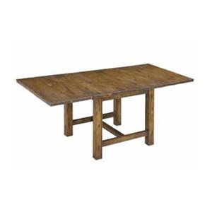 Buy Low Price Authentic Models Mariner Star Table In Distressed Honey And Black Amd1785