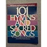 101 hymns and sacred songs: easy piano. Tri-chord arrangements