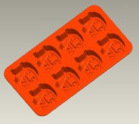Auburn Silicone Ice Tray Candy Mold (2 Pack) by Bakins Silicone Ice Trays