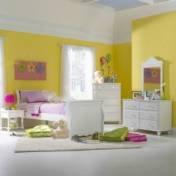 Hillsdale Furniture 1528Btwsr5Pc Lauren 5 Piece Sleigh Twin Bedroom Set In White 1528Btwsr5Pc front-984430
