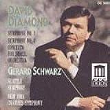 Diamond: Sinfonie 2 & 4. Orchesterkonzert