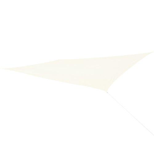 Corasol COR11RE6X4-CW - Vela de sombra para patio (resistente al agua), color beige, 6 x 4 m