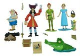 Disney Parks Exclusive Peter Pan Tinkerbell 14 Pc. Figurine Cake Topper Set