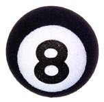8 Ball Antenna Ball Topper