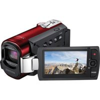 Samsung F40 Ultra Zoom Camcorder Red