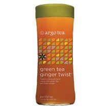 Argo Tea Tea Green Ginger Twist 13.5-Ounce (Pack Of 18)