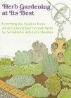 img - for Herb Gardening at Its Best book / textbook / text book