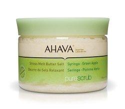 AHAVA Pure Spa Stress Melt Butter Salt Syringa  Green Apple 12.3 oz