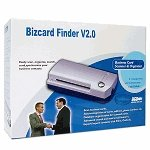 Bizcard Finder V2.0 USB Business Card Scanner & Organizer (Brand New)