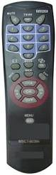Toshiba LCD TV MSCT90384 Compatible Remote Controller + AA/AAA Battery