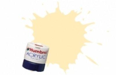 Humbrol Acrylic Paint, Pullman Cream - 1