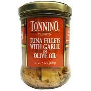 Tonnino Tuna Tuna Filet With Garlic Oil, 6.7 oz