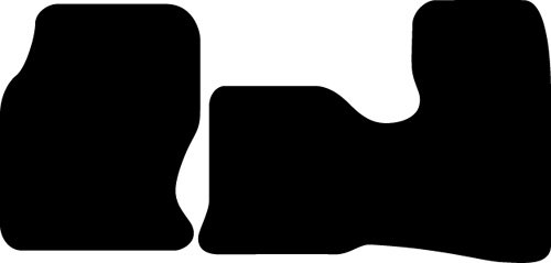 Ford Bronco Stain Resistant Carpeted Custom-Fit Floor Mats - Automatic, 4Wd, ... front-564317