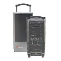 Califone Pa919 Integrated Portable Pa System With 900Mhz Wireless Mic Receiver, Up To 300' Wireless Range