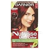 TRIPLE PACK of Garnier Nutrisse Cream Vibrant Red 5.62
