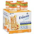 Ensure Clear Peach Nutritional Drink Bottle 4 Pk (Pack Of 6)
