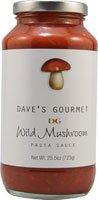 Daves Gourmet Mushroom Pasta Sauce 25 oz.