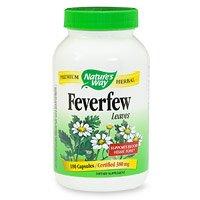 Отзывы Nature's Way Feverfew Leaves 380 mg, Capsules 180ea