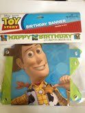 Toy Story Happy Birthday Banner - 6' Long