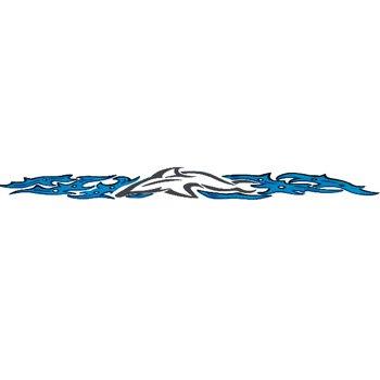 Buy TRIBAL DOLPHIN Arm Band Temporary Tattoo 1.5×9