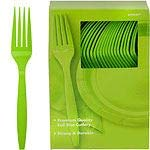 Amscan Big Party Pack 100 Count Mid Weight Plastic Knives