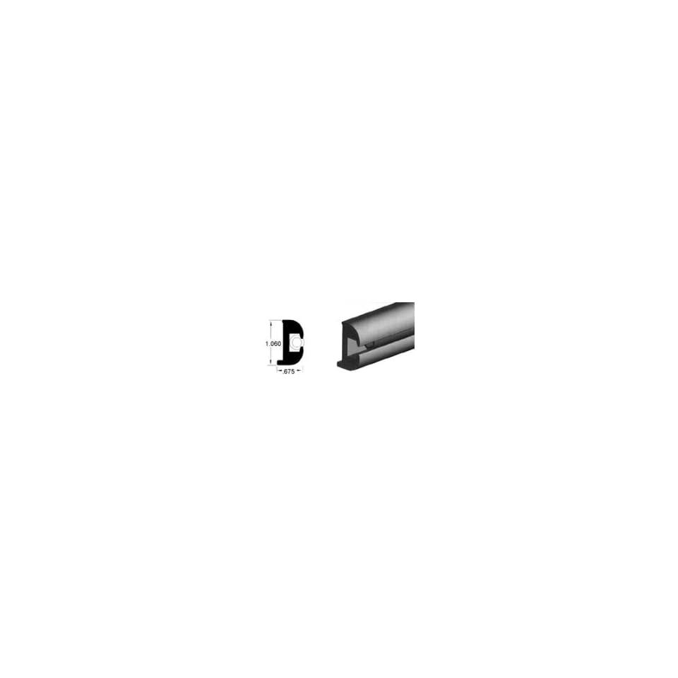 Flexible Vinyl Rub Rails Vinyl Insert (V12 0810/Black) on PopScreen