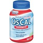 Os-Cal 500 + D Supplement With Vitamin D Caplets 160