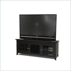 Cheap Tech Craft Veneto 60 Inch Black TV Stand (CRE60B) (CRE60B)