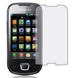 PHONE PROTECTION. 6 IN 1 PACK - SAMSUNG i5800 GALAXY 3 APOLLO - ANTI GLARE / ANTI SCRATCH CLEAR LCD SCREEN PROTECTOR. UK-GOODS