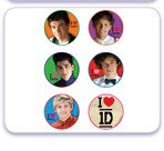 One Direction Edible Cupcake Toppers-12 Count