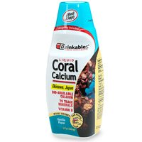 Nécessaires à boire le calcium de corail