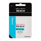 Reach Dental Floss, Waxed, Unflavored 5 yd