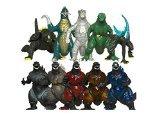 TANZKY® 10pcs Mini Godzilla Dinosaur Toys