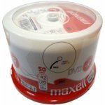 Maxell 275701.40.CN - 50PK 4.7GB 16X Printable DVD-R SP
