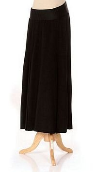 Lilo Maternity Long Box Pleated Skirt